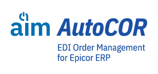 AIM AutoCOR software – EDI Order Management for Epicor ERP