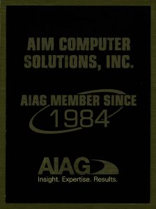 AIM Computer Solutions AIAG Member Since 1984